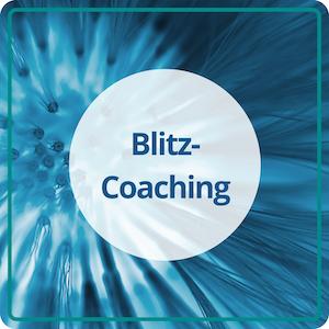 Das Blitz-Coaching mit Anne Heintze für aktuelle Lebensfragen